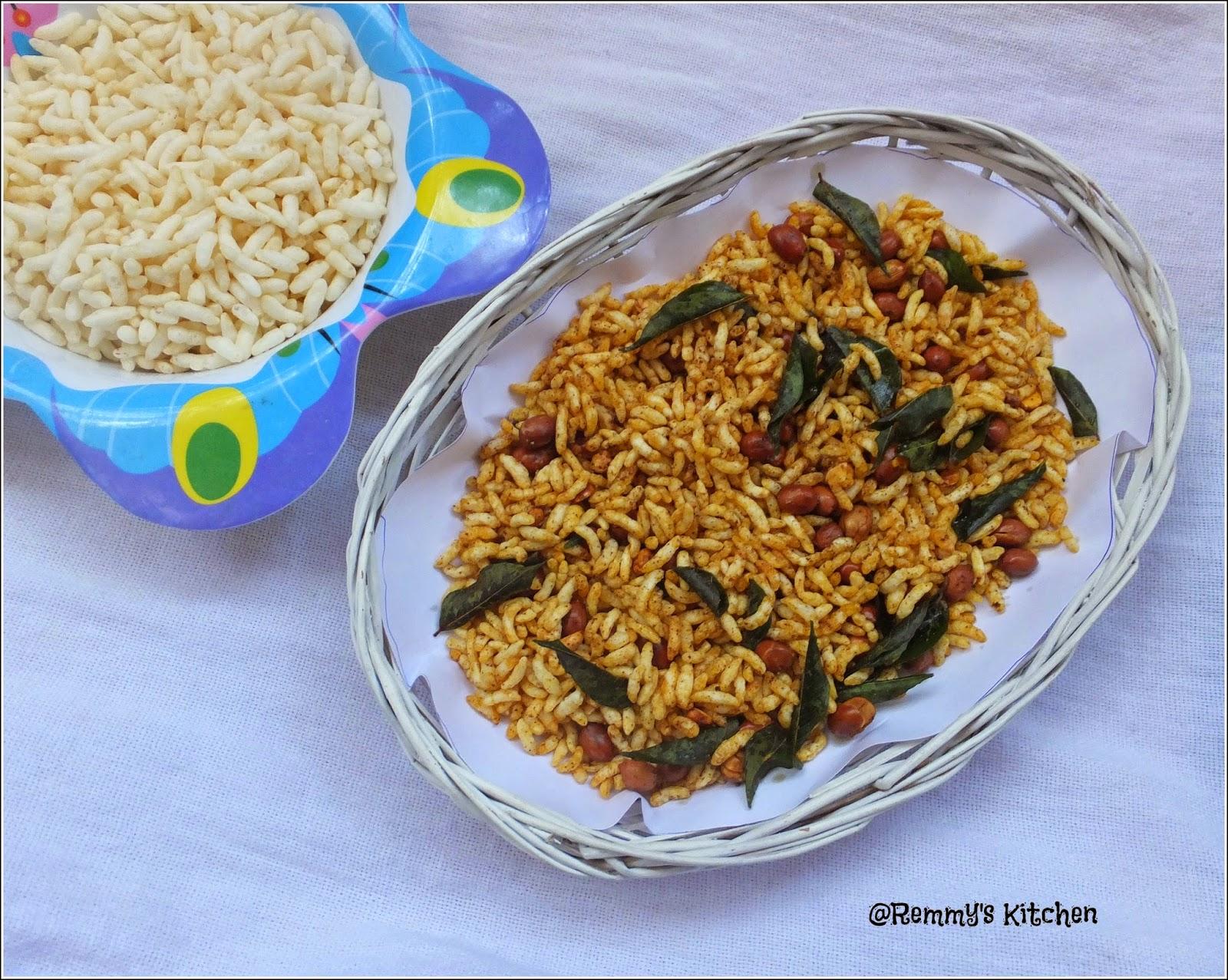 Kara pri / Spicy puffed rice / Spicy murmura