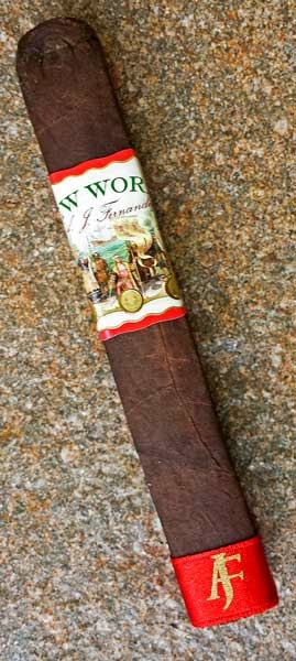 New World Box-Pressed Robusto From AJ Fernandez