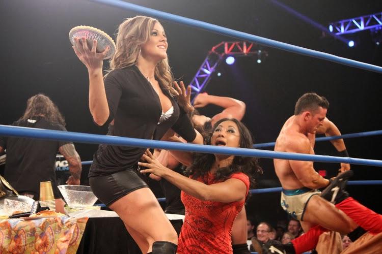 Wardrobe malfunctions in wrestling