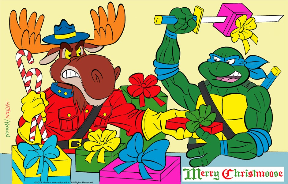 Ninja pizza teenage mutant ninja turtles news information ryan browns merry monty christmoose contest sciox Image collections