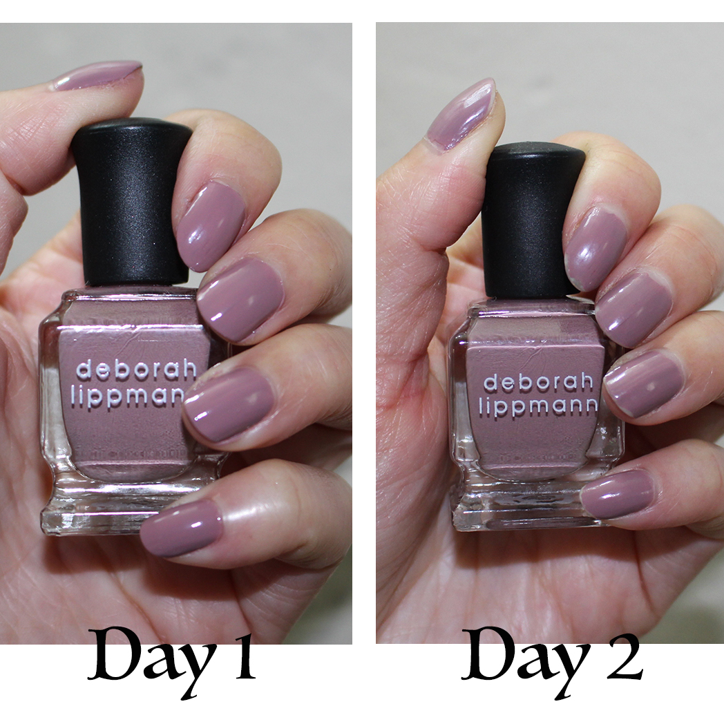 Wear Time Is Not Bad As You Can See With My Pictures Where I Put The Polish To A Five Day Period Test No Base Or Top Coat