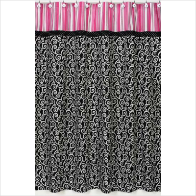 Black and purple curtains 2