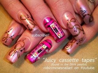 Robin moses nail art summer nails diva nails long nails nail art diva nails with bling swag prinsesfo Choice Image