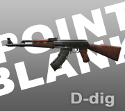 Senjata AK-47 Ext. Point Blank - PB
