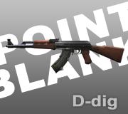 Senjata AK-47 Ext. Point Blank - PB