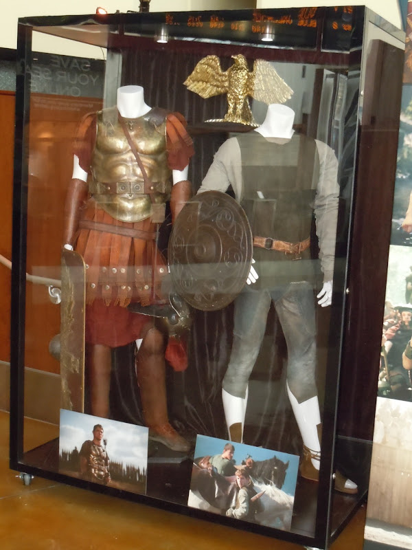 The Eagle movie costume exhibit