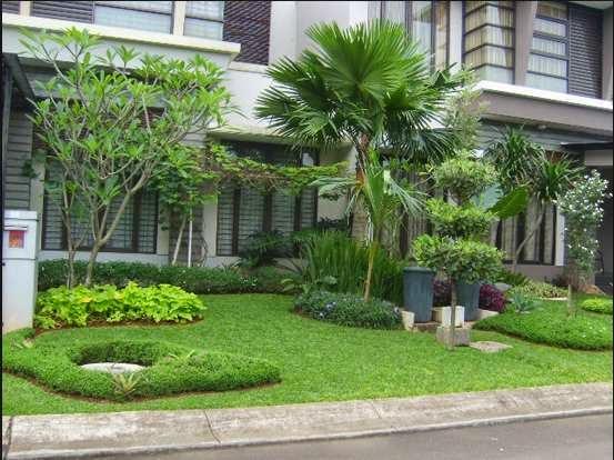 desain taman rumah minimalis 6