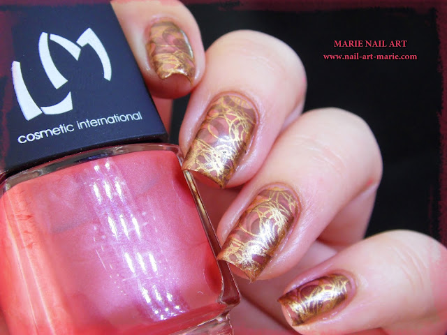 Nail Art Double Stamping Automnale5