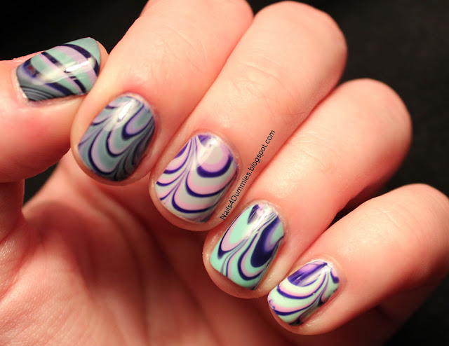 Barry M Ombre Water Marble