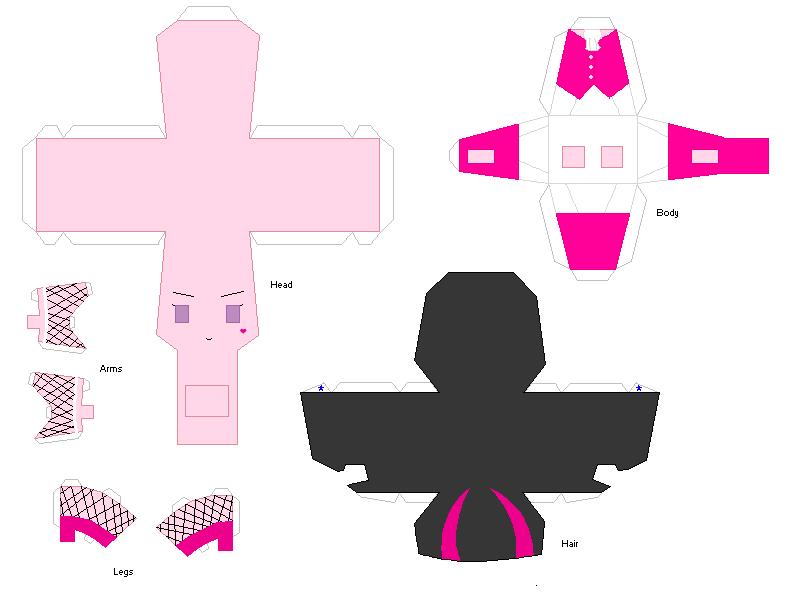 Monster High Paper Crafts