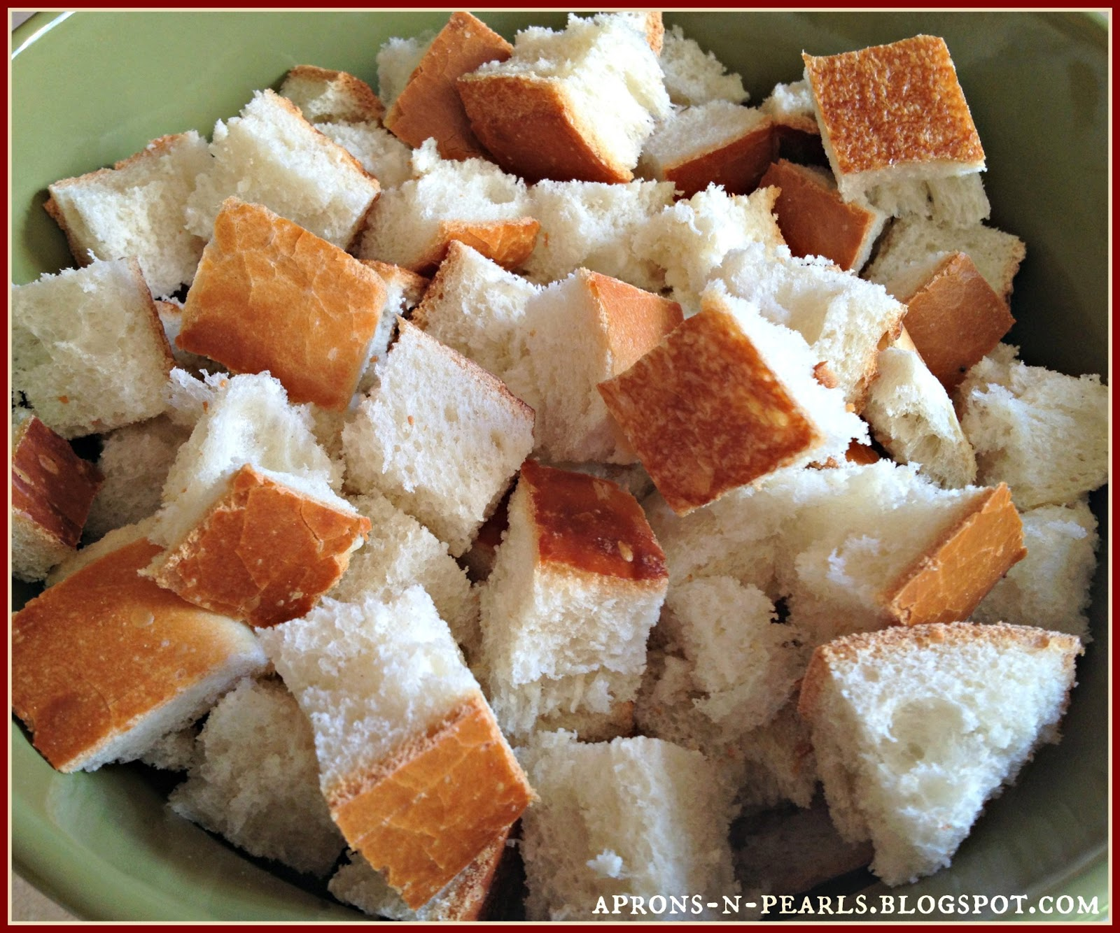 Bread Pudding | Aprons 'n Pearls