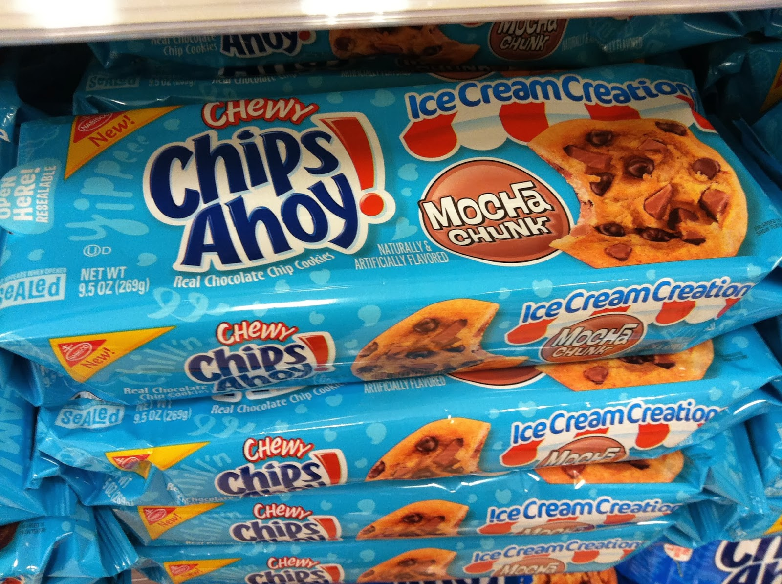 Chips Ahoy Ice Cream Creations