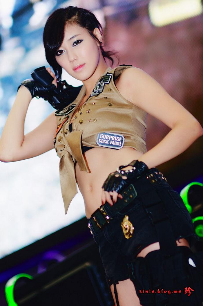 kim ha yul sexy gstar 2011 cosplay