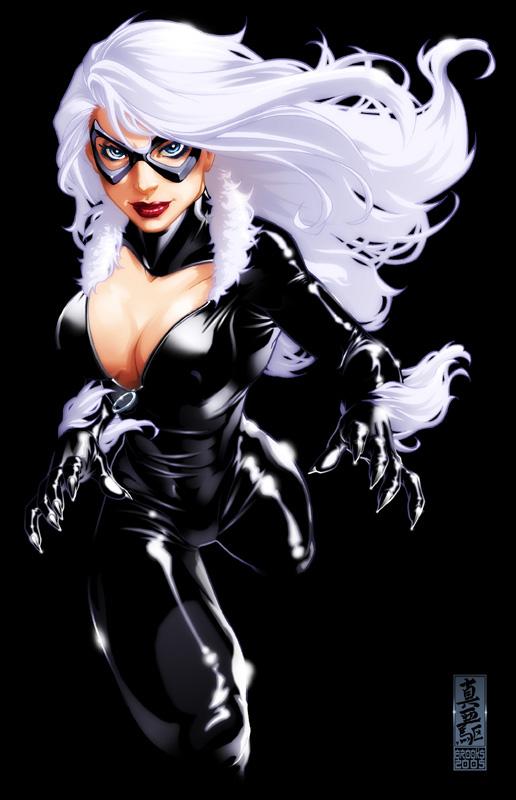 Black Cat Spiderman Fuck