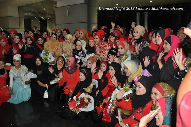 Diamond Night Dinner Award at MIECC for premium beautiful top agents with green leaders group