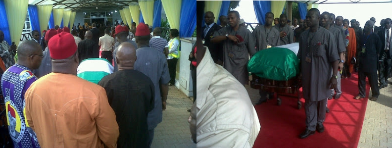 Chinua Achebe funeral photos