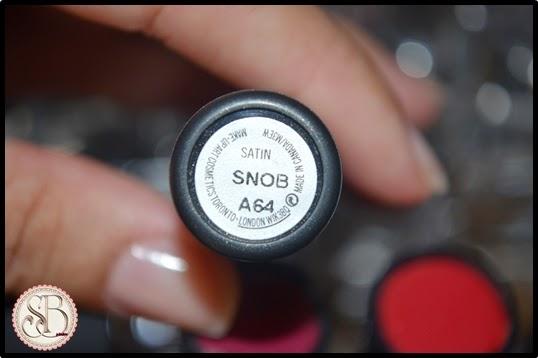Somando Beleza, Neiva Marins, Batom, Mac Snob By Nick Minaj