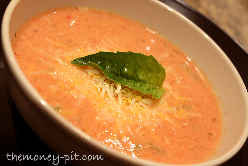 ... nothing completes a good meal of tomato bisque, like grilled cheese