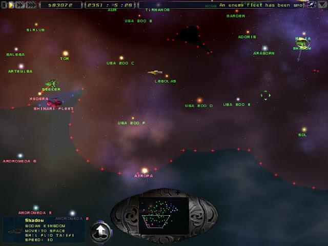 Imperium Galactica 2 - Space Fleets Description