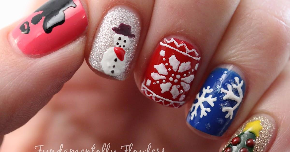 Fundamentally Flawless: Christmas Nail Art: Nails Supreme Plain Nail ...