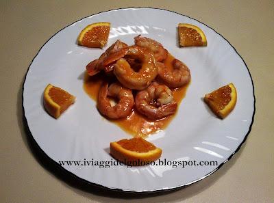 arance & gamberi ...