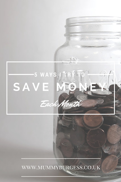 Easy Ways to save money each month