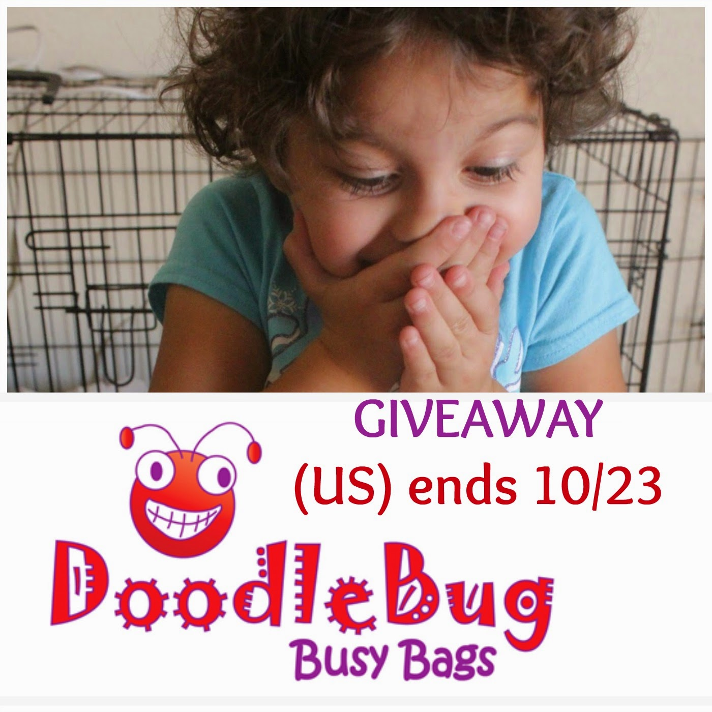 Kidable Adventures Doodlebug Busy Bag