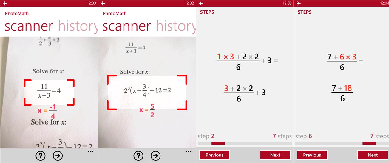 PhotoMath Jadikan Kamera Sebagai Kalkulator Untuk Windows Phone