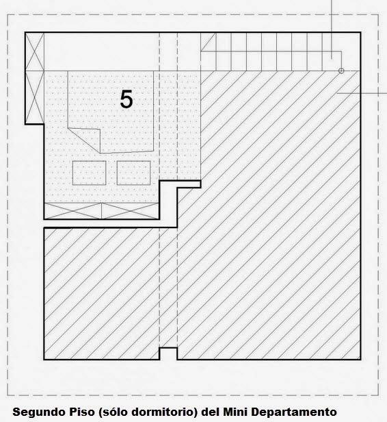 Dise o de departamento peque o de 29 metros cuadrados for Piso 70 metros cuadrados