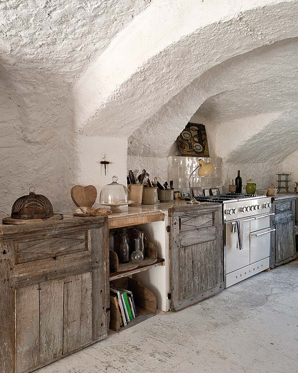 Shabby chic rural for Interieur provence