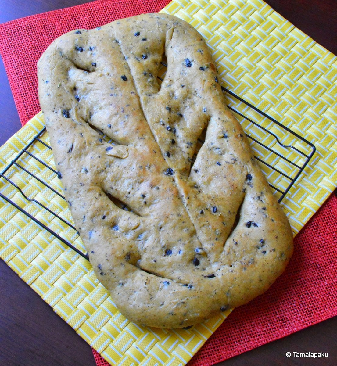 Herbed Fougasse