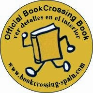 pegatina redonda bookcrossing