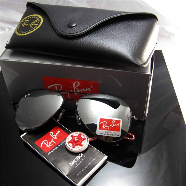 black mirrored ray ban aviators  Dropshipping Malaysia: RB3025 Aviator