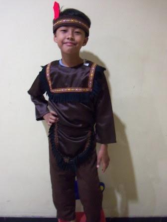 KSA-023 Kostum Indian Boy 2