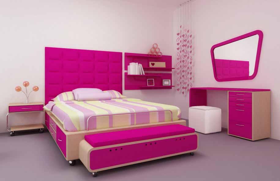 inspirasi desain kamar tidur remaja unik keren