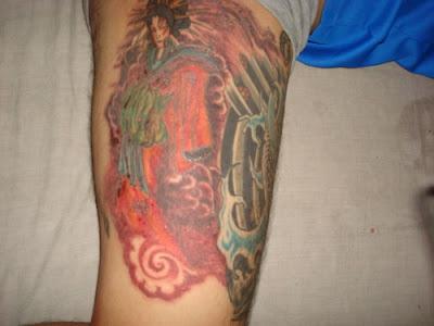 Men With Japanese Geisha Tattoos