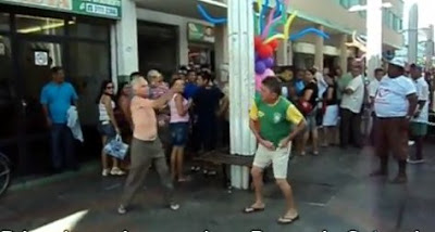 ブラジル人の喧嘩