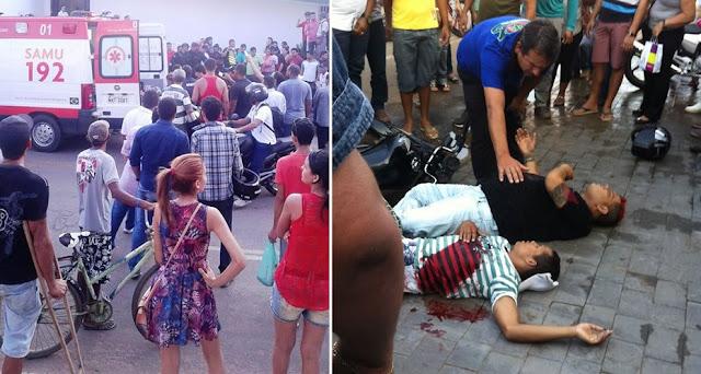 Dupla de assaltantes é baleada durante assalto em clínica de Rio Branco