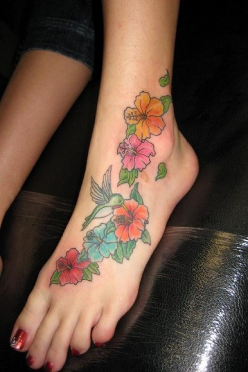 Flower-Foot-Tattoos1