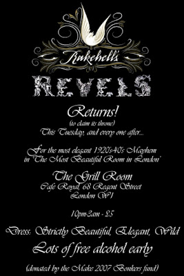 Rakehell's Revels flyer