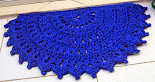 Tapete MeiaLua Azul Marinho