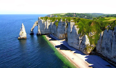 Etretat Cliffs Pays de Caux France