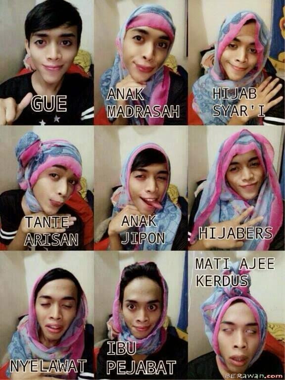 Tutorial Hijab Jipon Pake Jilbab Hijab Malu Ah All Above My Head Hijab Sarung Style Tutorial Tuanku Imam Bonjol Ra Kartini Dian Pelangi Arjeti Bilbina Minky Momo 9 Tutorial Hijab Segi Empat