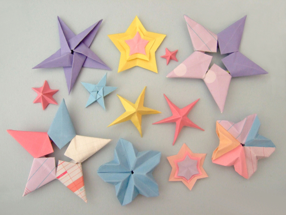 Tutoriais de Origami