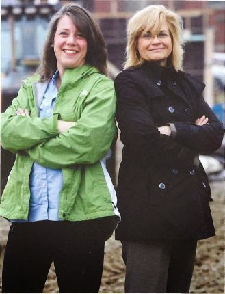 Women Builders of Athertyn Pohlig Project Manager Jessica Canto and Warfel Construction Project Manager Sheila Snyder