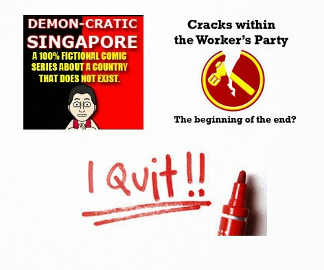 Demon-cratic Singapore betrayed by Worker's Party