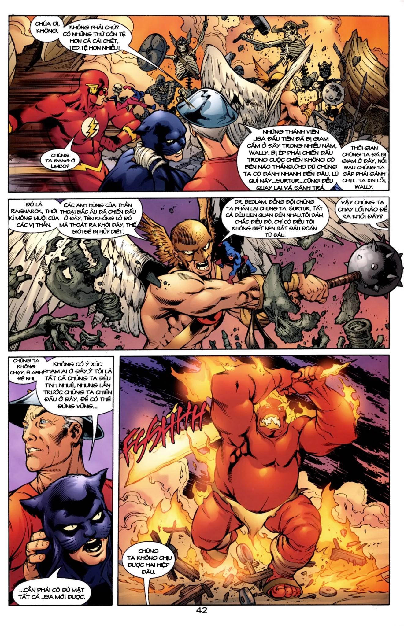 JLA JSA: VIRTUE AND VICE chap 2 - Trang 18