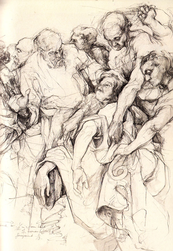 Tobacco Factory Drawing Sessions: Drawing from The Old Masters