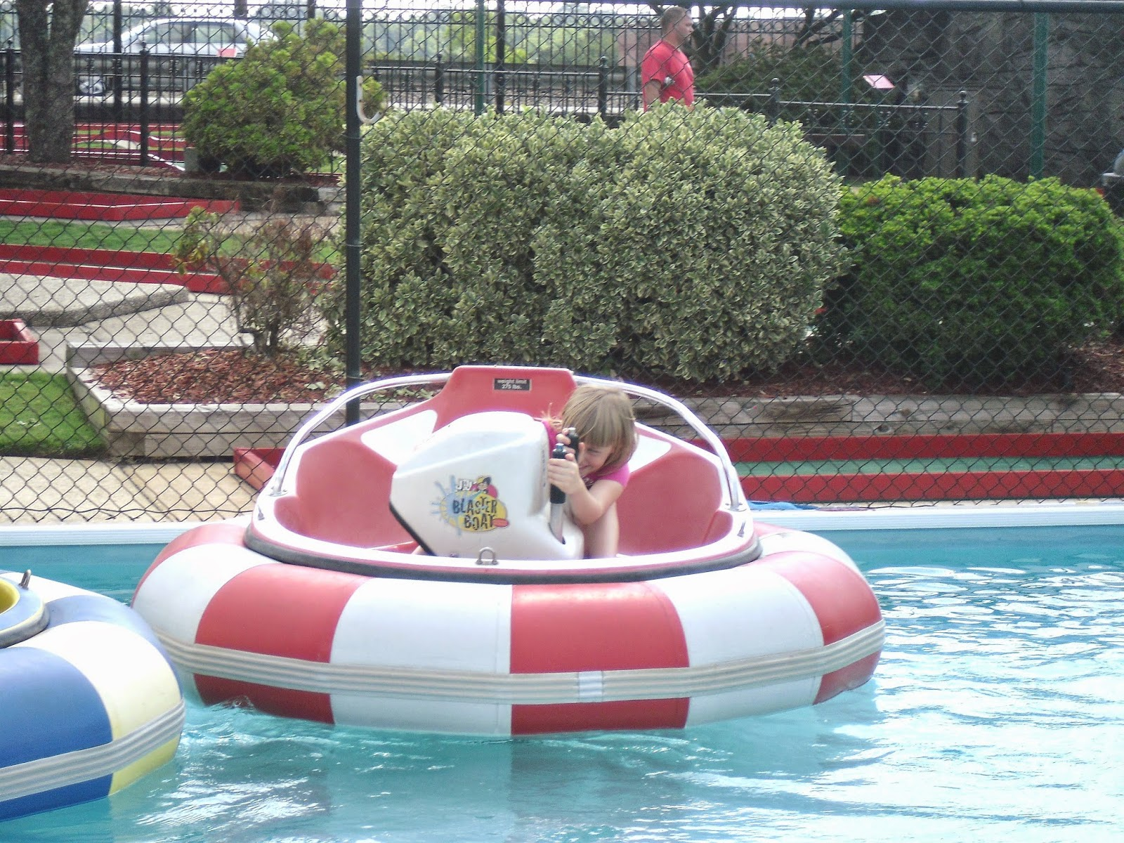 Travel Nc With Kids Adventure Landing Bumper Boats In