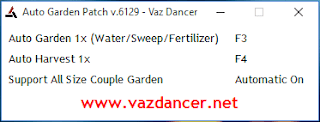 Cheat Auto Garden Ayodance V6129 vazdancer